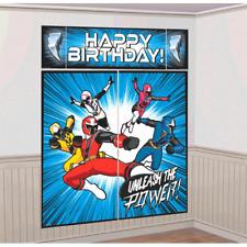 Power Rangers Ninja Steel Scene Setter Decorating Kit