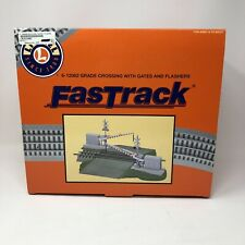 Lionel FasTrack Grade Crossing with Gates and Flashers # 6-12062