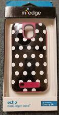 Medge Echo Case Black and White Polka Dot Samsung Galaxy S4