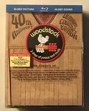 Woodstock 40th Anniversary Collector's Edition Director's Cut Rock 3 Dvd Set New
