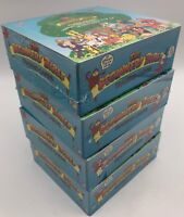 (4) The Beginners Bible 1995 Unopened Pack Boxes Trading Cards Games & Pop-Ups