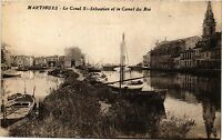 CPA MARTIGUES Le Canal Saint Sebastien et le Canal du Roi (339904)