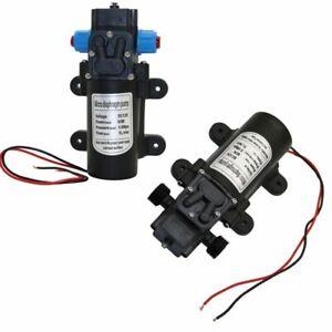 "Dc 12v 60w Micro Diaphragm Water Pump Garden Irrigation 18mm 1/2"" Male Thread"