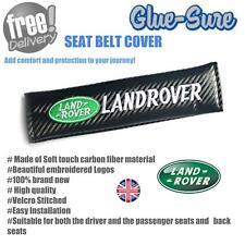 Landrover Car Seat Belt Safety Shoulder Strap Cover Cushion Pad Carbon Fiber