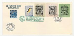 Venezuela: 2 covers with different cinderellas alussives to the local... VS0084