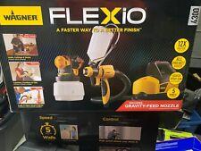 Wagner Flexio 4300 Paint Sprayer w/ Gravity Feed Nozzle 2410829