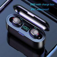 TWS Mini Auriculares inalámbricos estéreo con Bluetooth 5.0 intrauditivos