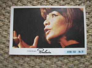 JULIETTE GRECO VIGNETTE IMAGE #70 CHOCOLAT POULAIN