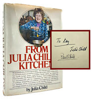 From Julia Child's Kitchen – SIGNED x 2 FIRST EDITION – 1st Printing CHILD 1975