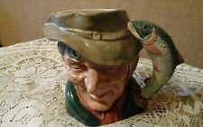 "Large Royal Doulton character jug ""The Poacher"""