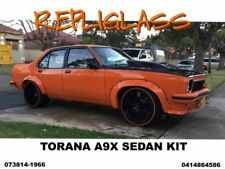 TORANA LH - LX  A9X SEDAN FULL SPOILER KIT WITH WIDER REAR FLARES