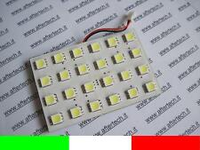 PANEL 24 LED SMD5050 BLANCO 6000K T10 BA9S SILURO L2