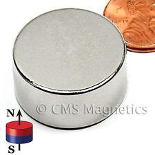"N45 Neodymium Magnets Dia 1x1/2"" NdFeB Strong NdFeB Rare Earth Disks 500-Count"