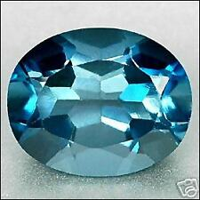 3,52 ct  London Blue Topaze Oval Portuguese VVS  Brazil