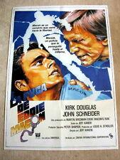 EDDIE MACON'S RUN Original Movie Poster KIRK DOUGLAS JOHN SCHNEIDER LEE PURCELL