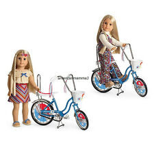 "American Girl JULIE BANANA SEAT BIKE for 18"" Dolls Bicycle Julie's Ride NEW"