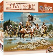 Tribal Spirit The Chiefs Indian 1000 Piece Puzzle Masterpiece Puzzle