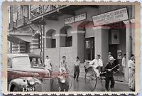 WW2 Robinson Store Street Scene Rickshaw Car Shop Vintage Singapore Photo 18752