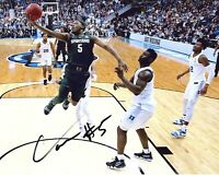 Cassius Winston Michigan State Spartans autographed signed 8x10 photo DUKE WIN!