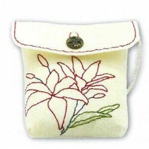 Kleiber Craft Set Felt - Felted Purse For Sew, Embroider Frisk for Children