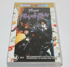 Prince Purple Rain Collector's Series Vhs Video Brand New