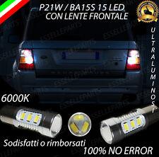 COPPIA LUCI RETROMARCIA 15 LED P21W BA15S CANBUS RANGE ROVER SPORT I