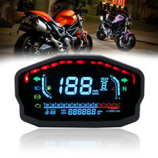 Motorcycle LED LCD Speedometer Digital Odometer Backlight Odometer For Cylinders