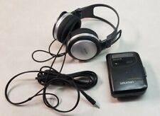 Sony Cassette AM FM Walkman and Headphones Model MDR XD100