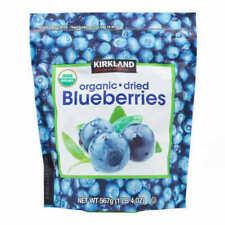 KIRKLAND SIGNATURE ORGANIC Dried Blueberries - NET 567 G KOSHER