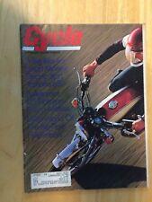 CYCLE SEPTEMBER 1972 MAGAZINE YAMAHA 650 RICKMAN NORTON GIRL