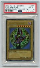 Yu-Gi-Oh Legend of Blue-Eyes 1st Edition Dark Magician LOB-005 Ultra Rare PSA 10