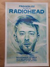Ode to Radiohead Tribute Concert Poster Melbourne 2011 Art Sam Octigan  Ltd Ed