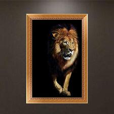 Lion Animal DIY 5D Diamond Embroidery Painting Cross Stitch Craft Home Decor