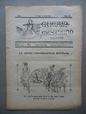 Guerin Meschino Coloniale Anno 7 N.456 San Paolo Brasile 8/10/1921 Emigrazione