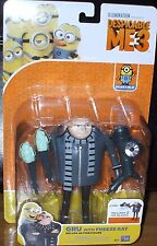 Despicable Me 3 Movie ~ GRU with FREEZE RAY ~ Deluxe Posable Action Figure