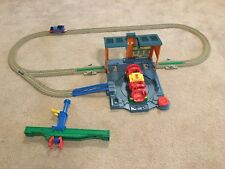 Thomas Train Spin & Fix Steamworks Set by Trackmaster NOT COMPLETE