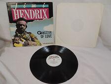 GANGSTER OF LOVE Jimi Hendrix Topline 1985 UK Vinyl LP