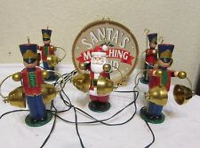 MR CHRISTMAS SANTA'S MARCHING BAND BATTERY  OPERATED