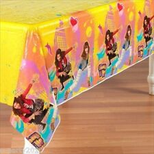 SHAKE IT UP PLASTIC TABLECOVER ~ Birthday Party Supplies Disney Room Decorations