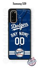 CUSTOMIZED LA DODGERS JERSEY PHONE CASE For iPHONE 11 Pro SAMSUNG S20 LG GOOGLE