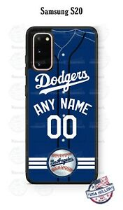 CUSTOMIZED LA DODGERS JERSEY PHONE CASE For iPHONE 12 Pro SAMSUNG S21 LG GOOGLE