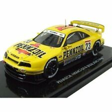 44191 EBBRO 1:43 Nissan Pennzoil Skyline JGTC 1998 # 23 [R33] Yellow Japan new.