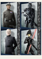 Topps Star Wars Card Trader Digital Villains Wave 2 Complete Set Of 4 Digital
