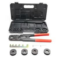 "Pex Crimper Kit Copper Ring Crimping Plumbing Tool 3/8"" 1/2"" 5/8"" 3/4"" 1"" + Case"
