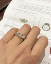 Real Diamond Engagement Ring White Gold 18carat $10950