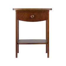 Claire Accent Table Anitque Walnut Finish