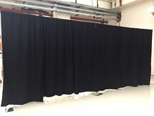 ADJUSTABLE QUICK BACKDROP KIT 10FT TALL x 50 FT WIDE PIPE  WITHOUT DRAPE