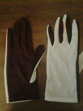 Style Plus Maroon/White Flash Gloves