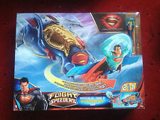 MATTEL DC COMICS FLIGHT SPEEDERS 2 IN 1 SUPERMAN SHIP KRYPTON XMAS GIFT