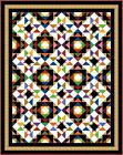 """ULTIMATUM - 83.5"""" x 66"""" - Pre-cut Patchwork Quilt Kit by Quilt-Addicts Kng Sgle"""
